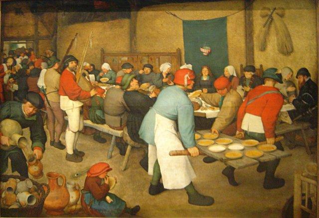 Bruegel, banchetto nuziale