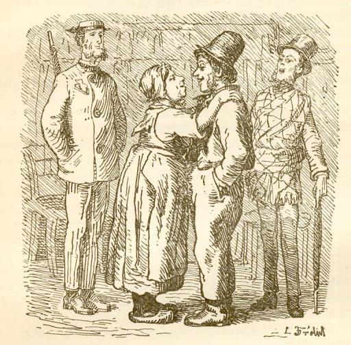 Lorenz Froelich 1843-45. Quel che fa il babbo è sempre giusto