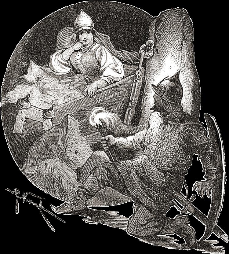 Mikhail Nesterov La principessa e i sette cavalieri