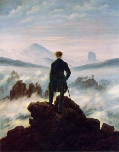 Friedrich, viandante sul mare di nebbia