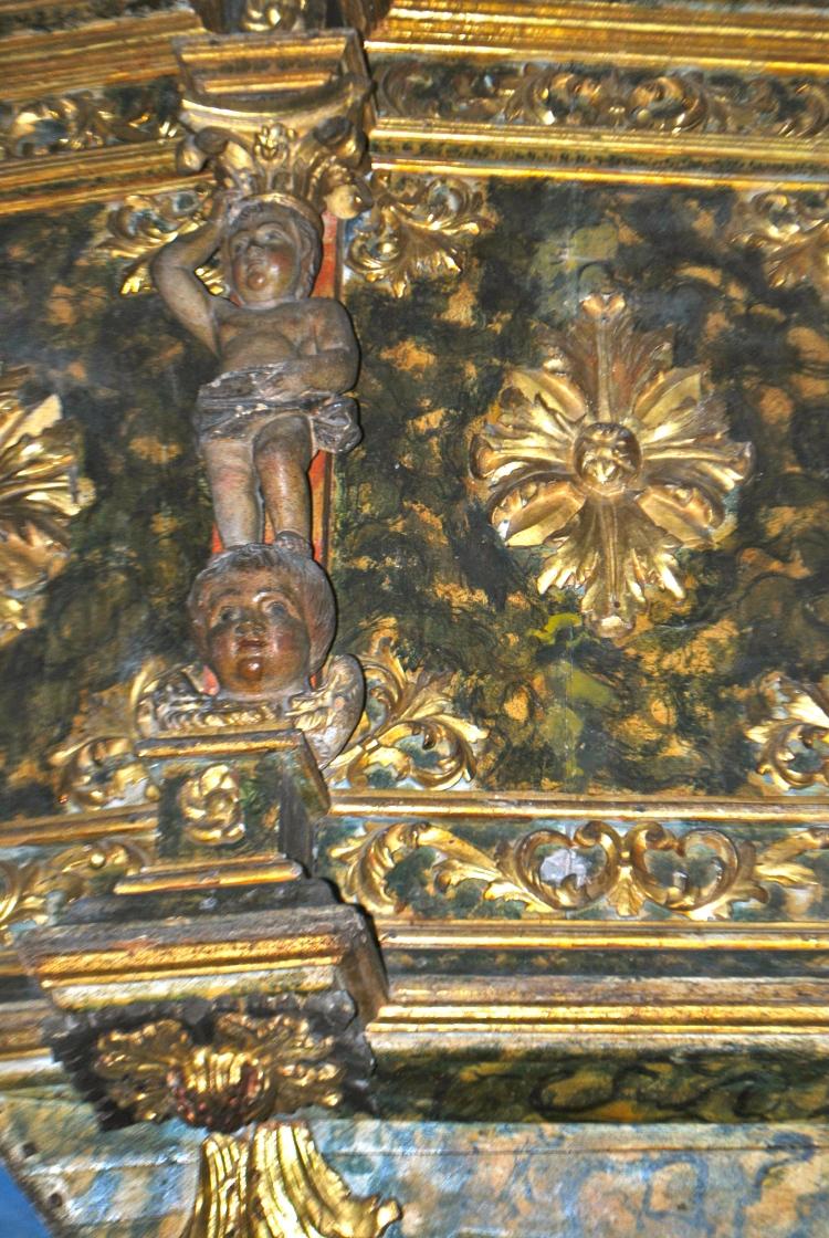 Pulpito della Cattedrale di Castelsardo XVI sec.