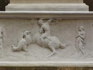 Donatello, San Giorgio e il drago