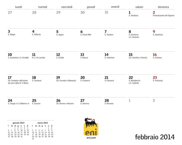 febbraio date