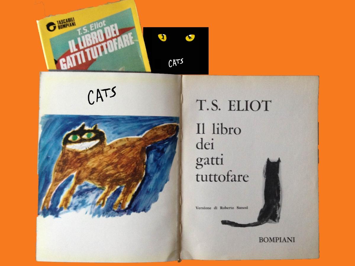 Il libro dei gatti tuttofare, di T.S.Eliot. E nasce Cats