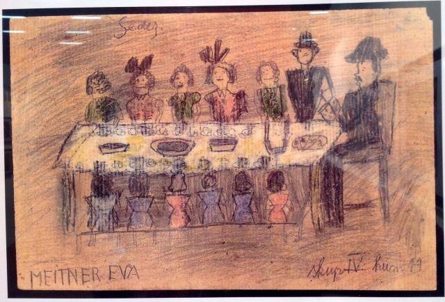 Eva Meitnerova, celebrazione della Pasqua ebraica nel Dormitorio delle Bambine n.17
