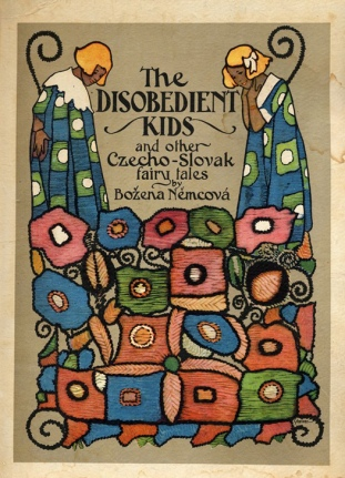 """Salt over gold"" in The disobedient kids. Illustrazioni di Artuš Scheiner"