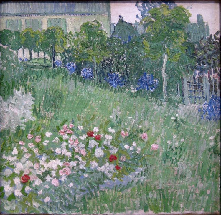Il giardino di daubigny. van-gogh. Amsterdam