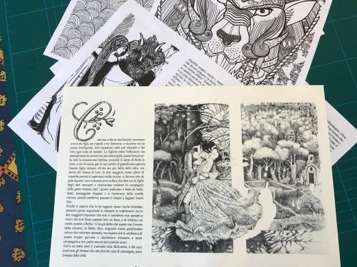 Retro copertina e pagine
