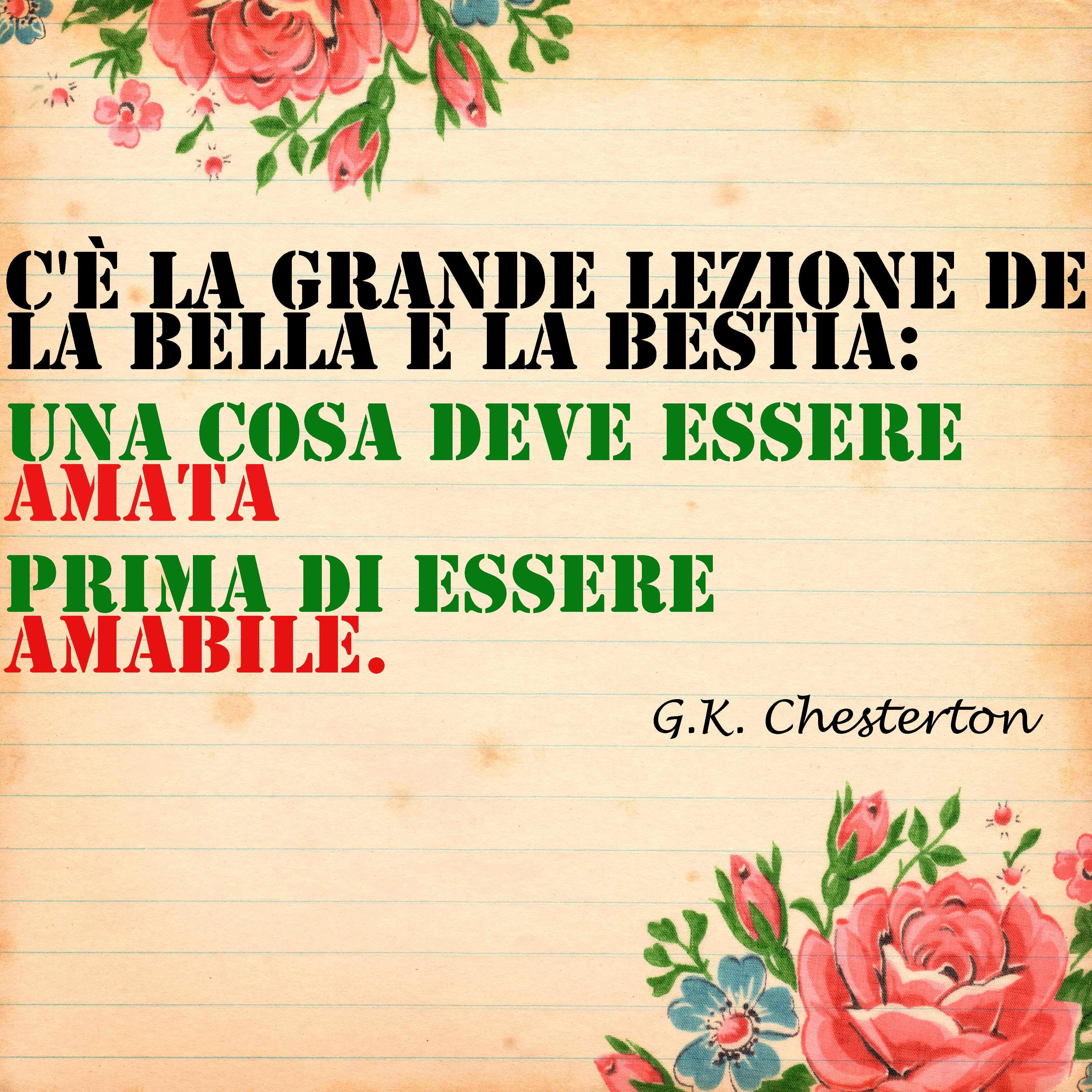 Frasi La Bella E La Bestia.Bettelheim Chesterton Cristina Campo Sulla Fiaba La Bella E La