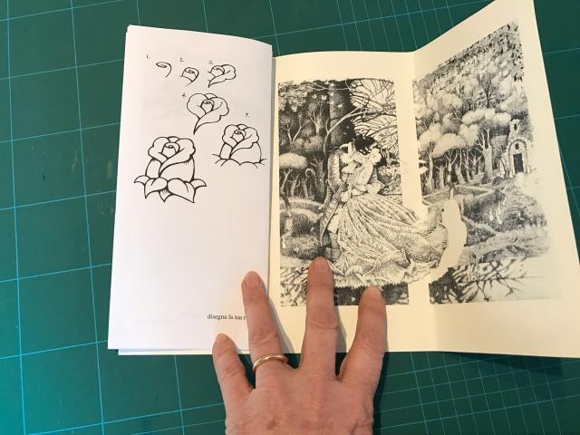 pagina disegni, fine