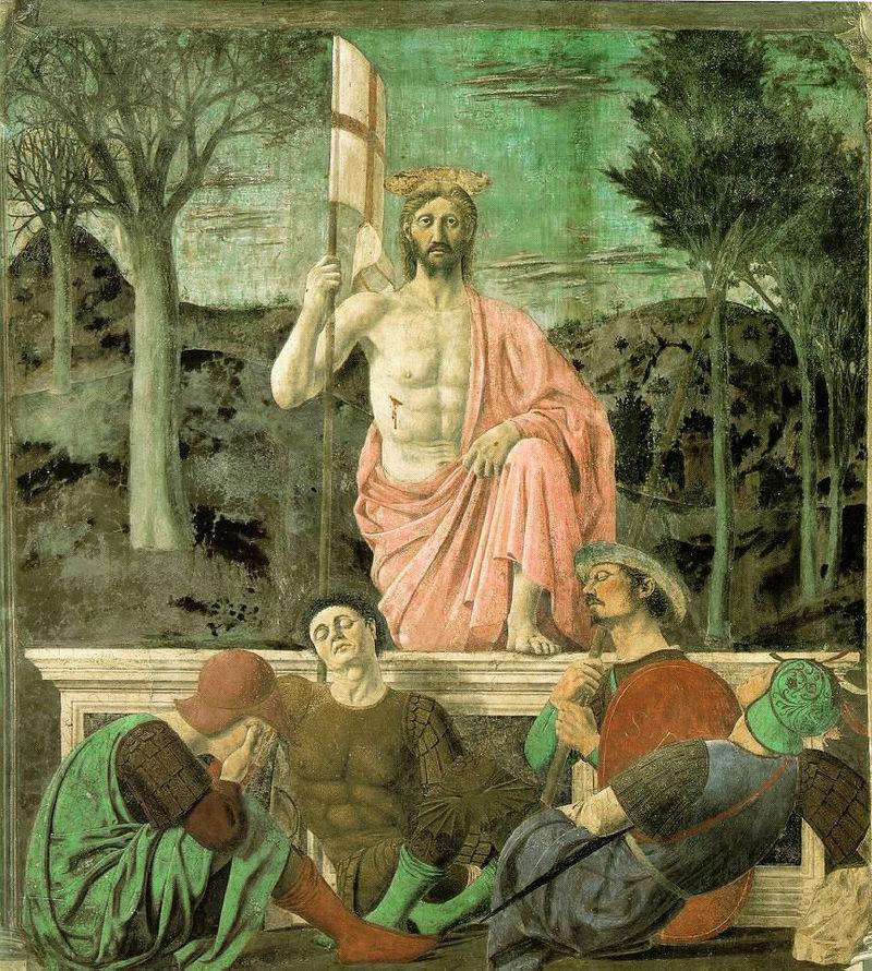 Resurrezione, Piero della Francesca