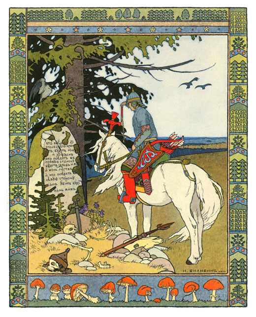 the crossroads ivan bilibin