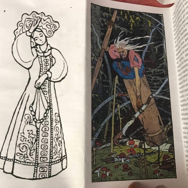 Vassilissa e la baba jaga, la temibile strega russa