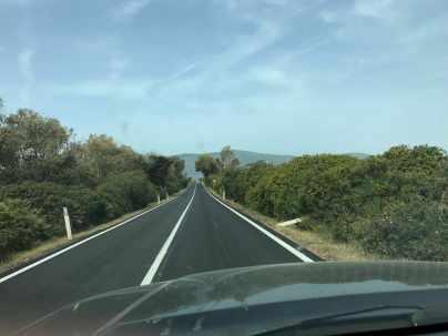 asfalto color nero nuovo