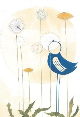 in cerca del vento uccellino