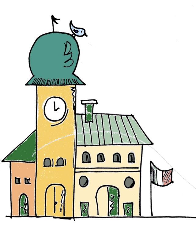 uccellino sul campanile