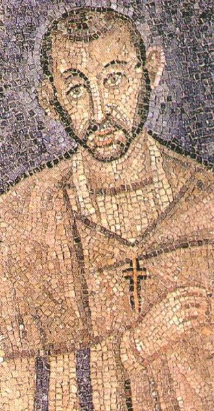 Sant'Ambrogio mosaico San Vittore