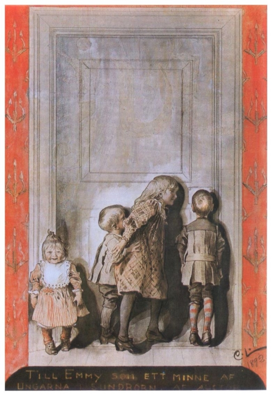 day before christmas carl larsson