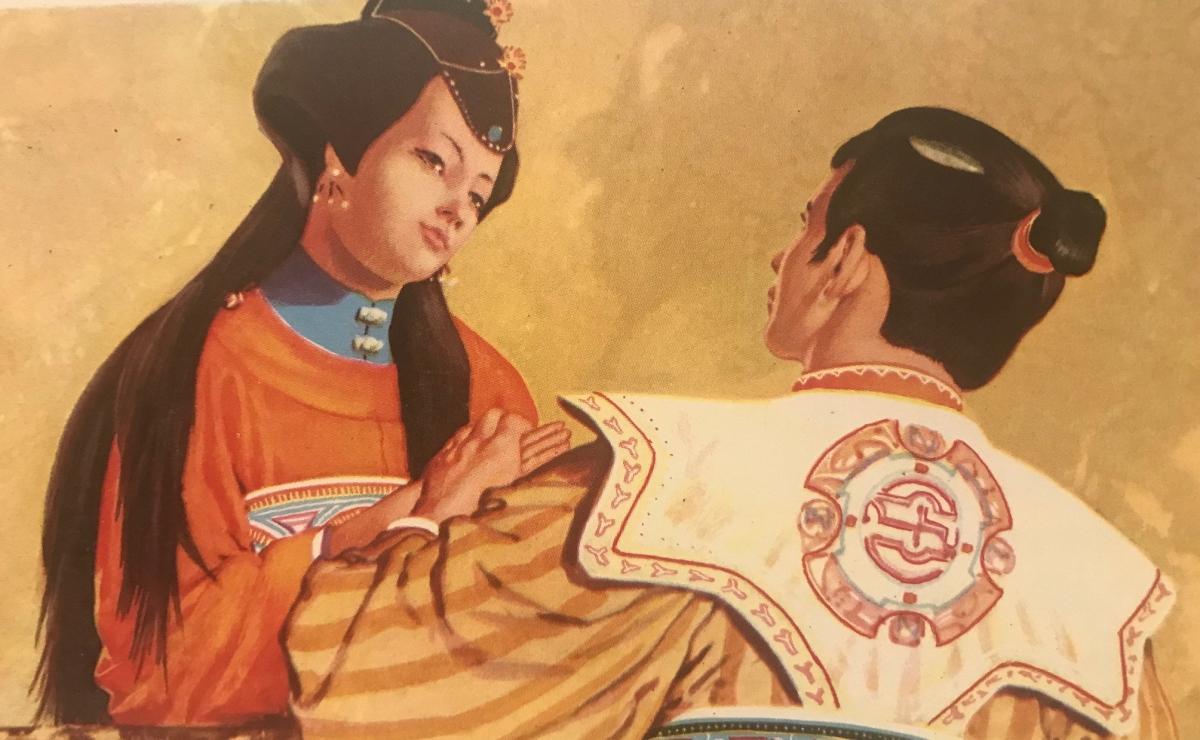 La Regina del lago Tung-Ting. Fiaba cinese