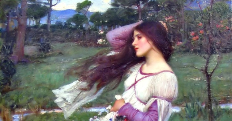 Windflowers - John William Waterhouse 1903