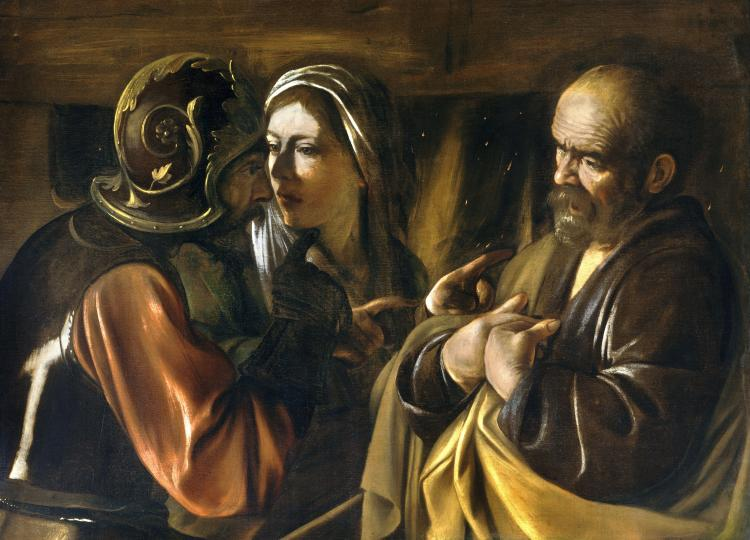The_Denial_of_Saint_Peter-Caravaggio_(1610)