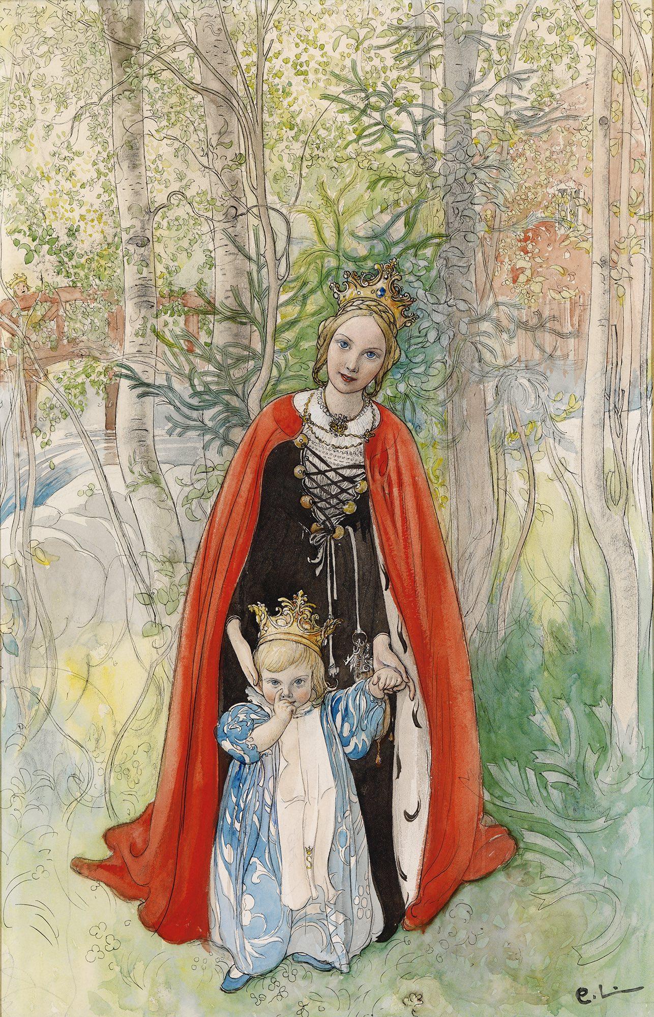 Copia di Carl_Larsson_Spring_Princess_1898