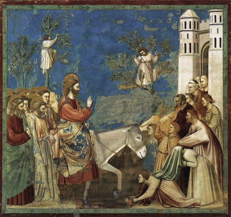 Copia di Giotto_di_Bondone_-_No._26_Scenes_from_the_Life_of_Christ_-_10._Entry_into_Jerusalem_-_WGA09206